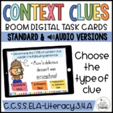 Context Clue Type of Clue Sort Boom Cards