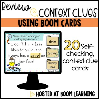 Context Clue Boom Cards