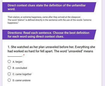 Context Clue Worksheets: Grades 3-6 [Digital]