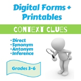 Context Clues: Direct, Synonym, Antonym, Inference: Grades
