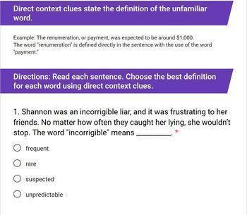 Context Clues: Direct, Synonym, Antonym, Inference [Print & Digital]: Grades 5-8