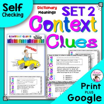 Context Clues Set 2