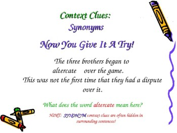 Context Clues 119-Slide PowerPoint Reading Skill Common Core CCSS Gr3-5 ELA LAFS