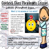 Context Clues Strategies Lesson