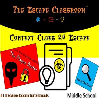 Context Clues 2.0 Escape Room (Middle School) | The Escape Classroom