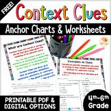 Context Clues Digital Activities   FREE Context Clues Worksheets