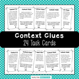 Context Clues Task Cards - Context Clues Scoot