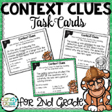 Context Clues Task Cards with Bonus Reading Comprehension
