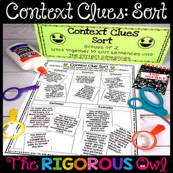 Context Clues Activities