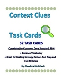 Context Clues: 52 Task Cards Common Core Standard ELA-Lite