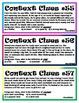 Context Clues #5 (Fifth set)