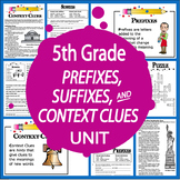 Context Clues Activities (3 Lessons, COLOR Posters + 7 Context Clues Worksheets)