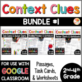 Context Clues Digital Distance Learning Activities BUNDLE for 2nd-4th Grade