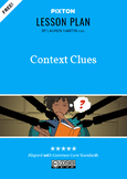 Context Clues Activities: Define, Apply to Info' text & Literature