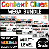 Context Clues Activities MULTI-LEVEL MEGA BUNDLE for 2nd-6th Grade
