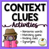 Context Clues Activities Pack