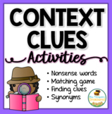 Context Clues Activities Pack