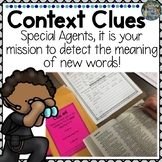 Special Agent Context Clues Activity