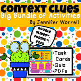 Context Clues Activity Bundle for Distance Learning