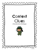 Context Clues Activity Pack (Vocabulary Strategy)