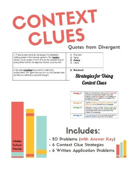 Context Clues Application - Divergent
