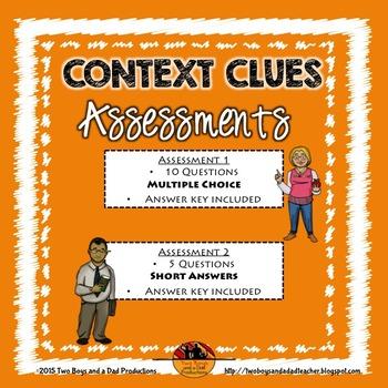 Context Clues Vocabulary Assessment