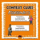 Context Clues Vocabulary Assessment