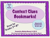Context Clues Book Mark (Common Core Aligned)