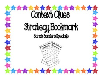 Context Clues Bookmark