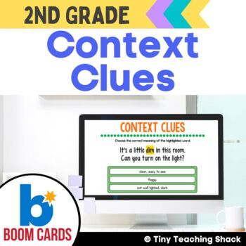 Context Clue Boom Cards Distance Learning