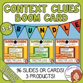 Context Clues Boom Learning Bundle: 96 Boom Cards for Dist