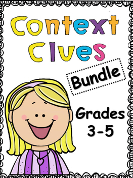 Reading: Context Clues Printables and Activities Bundle