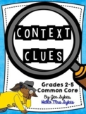 Context Clues Bundle   Task Cards, Scoot, and Boom Cards   What Am I? Game