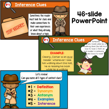 Context Clues Bundle of Activities (for 2nd and 3rd grade)