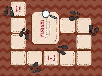 Context Clues Case File Folder Game