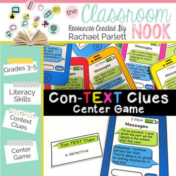 Context Clues Center Game