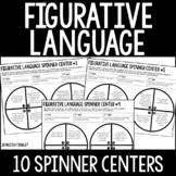 Figurative Language Centers   4th and 5th Grade Reading Spinner Centers