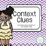 Context Clues Centers All Year Long