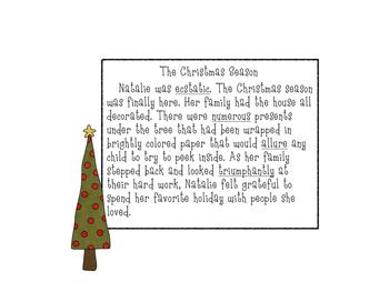 Context Clues Christmas