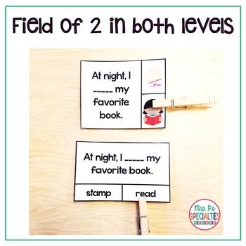 Context Clues Clip Cards: 2 Levels