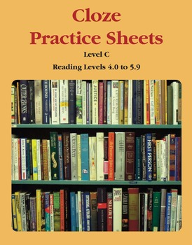 Context Clues – Cloze Practice Sheets – Level C (Reading Levels 4.0 to 5.9)
