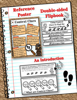 Context Clues Toolkit 3rd & 4th Grade Common Core RL3.4 RL4.4