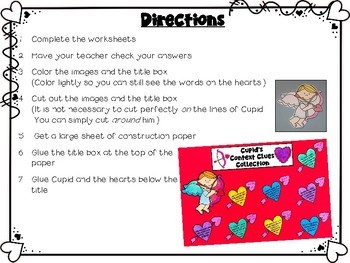 Context Clues Craftivity for Valentine's Day