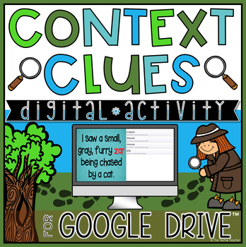 Context Clues Digital Activity for Google Drive™