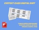 Context Clues Digital Sort