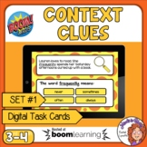 Context Clues Digital Task Cards on Boom Learning! Set 1 G