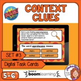 Context Clues Digital Task Cards on Boom Learning! Set 3 G