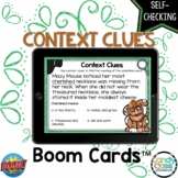 Context Clues Boom Cards Games Distance Learning 2nd Grade Vocabulary Activities