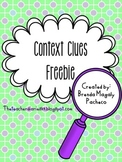 Context Clues Display {Freebie}