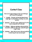 Context Clues- Distance Learning